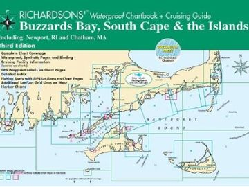 Waterproof Charts Of Buzzards Bay, South Cape & The Islands