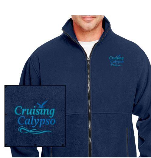 Fleece Zip Front Jacket