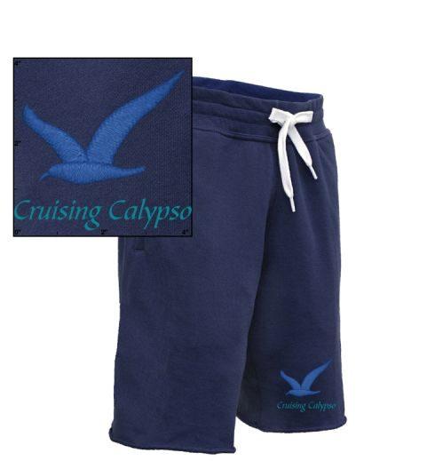 Mens Blue Gull Terry Fleece Sweatshort